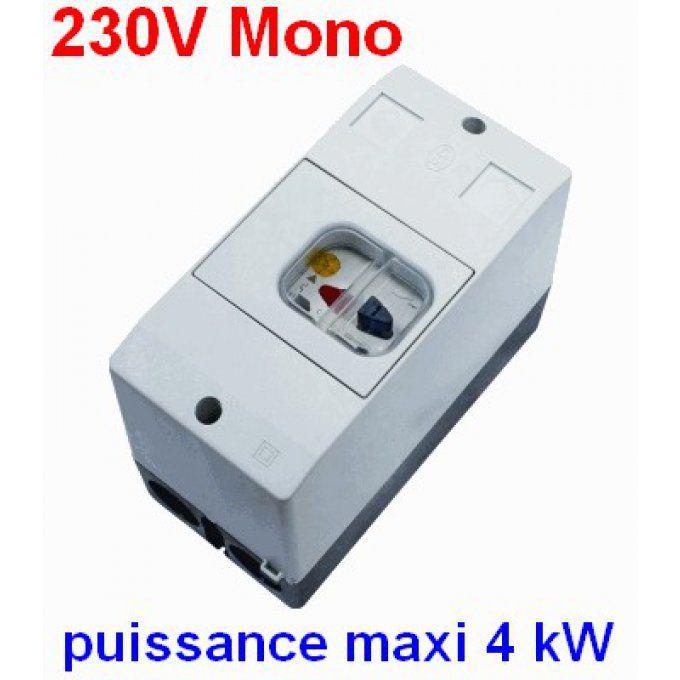 disjoncteur magn to thermique monophas 230v. Black Bedroom Furniture Sets. Home Design Ideas
