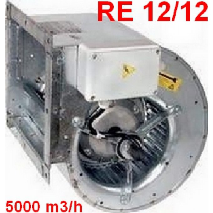 Moto ventilateurs re 12 12 5000 m3 h pour for Ventilateur de cuisine
