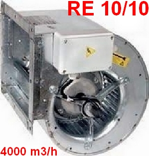 Ventilateur RE 10/10  600 Watts