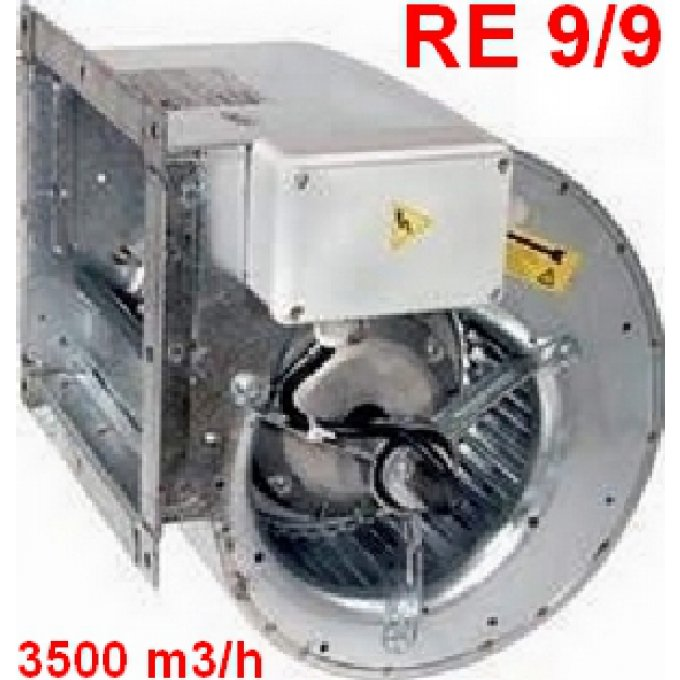 Ventilateur RE 9/9  550 Watts